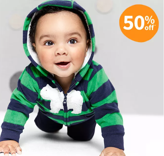 carters 50% off