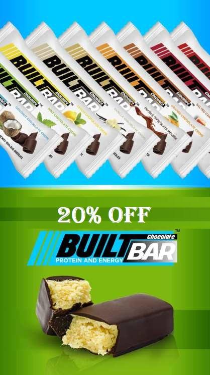 built bar 20 off