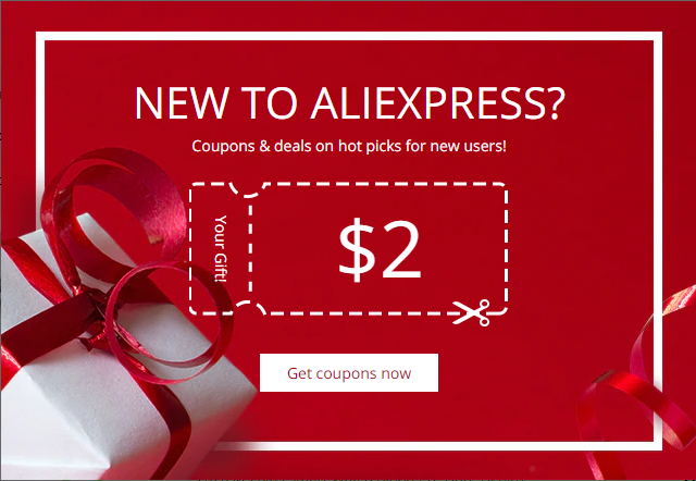 aliexpress new customer
