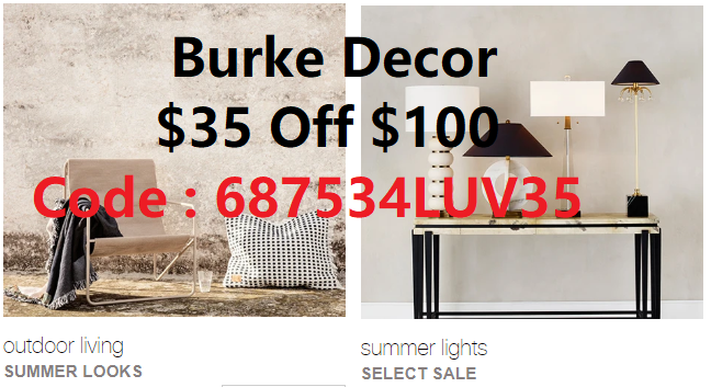 burke decor coupon code