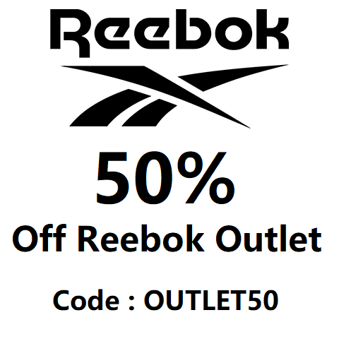reebok 50% off