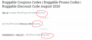 How to get Ruggable Coupon