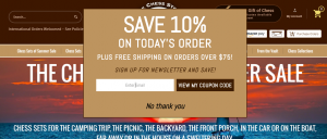 thechessstore 10% off