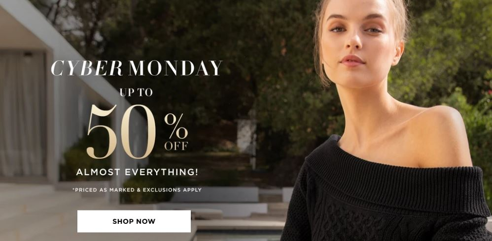Bebe Black friday coupon