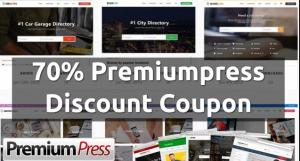 Premiumpress Coupon codes 2021