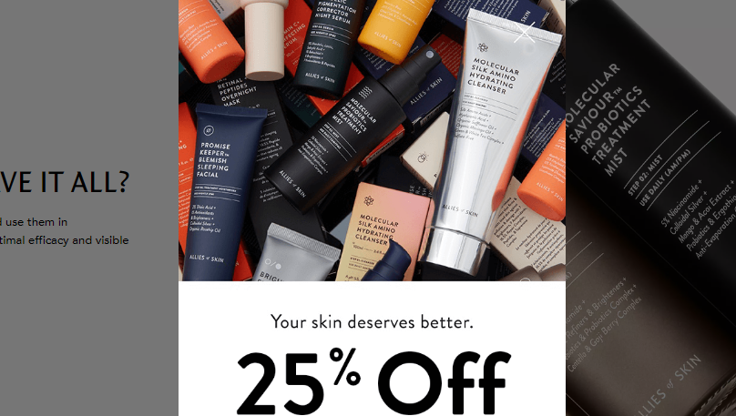 Allies of skin coupon code