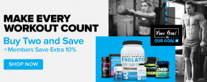 buy 1 and get 1 75% off