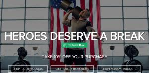 Bodybuilding.com military discount