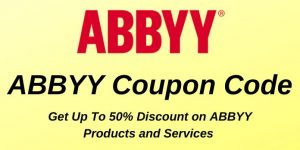 ABBYY coupon code